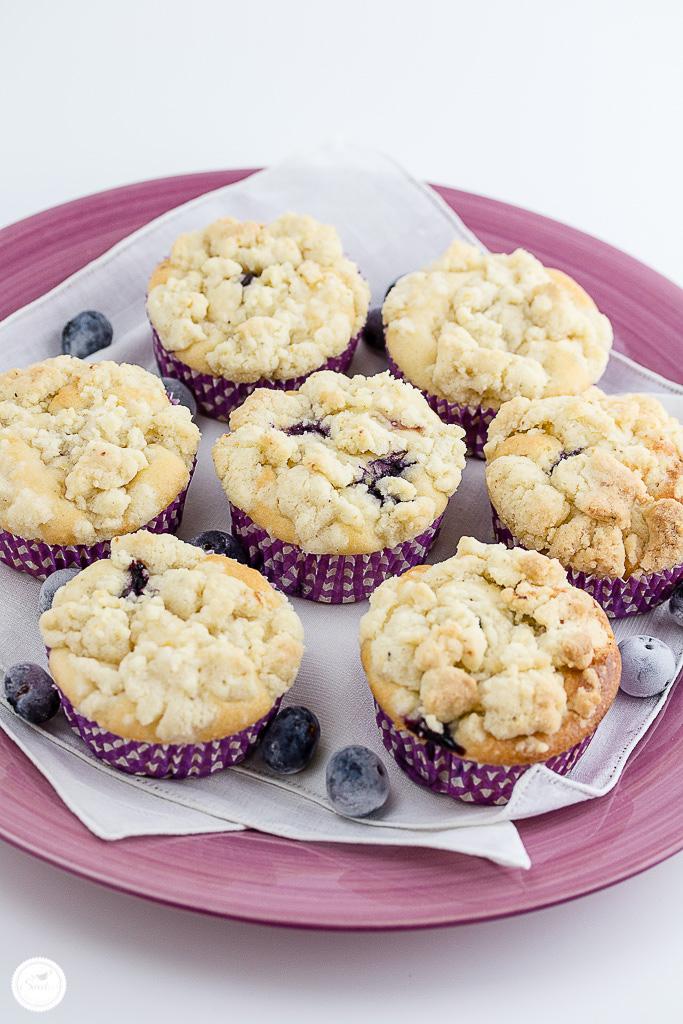 heidelbeer joghurt muffins mit zitronenstreusel sweet s like heaven. Black Bedroom Furniture Sets. Home Design Ideas