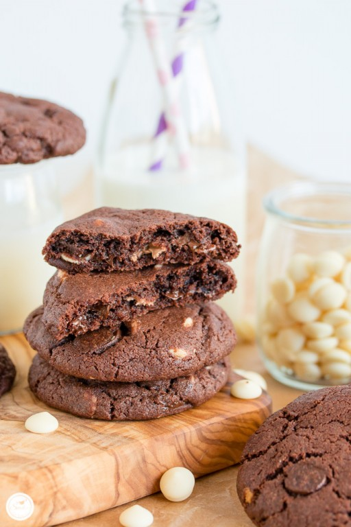 Triple Chocolate Chip Cookies_Bild 09